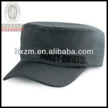Custom Military Style Baseball Cap Flat Top Cap