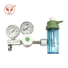 Direct sale Oxygen Regulators Manometer Oxygen two gauge medical Regulator for peru cylinders
