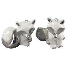 Tierförmige Keramik-Handwerk, Elektro-Keramik-Fox