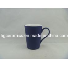 Черный цвет Изменение Latte Fine Bone Китай Кружка; Тупой польский