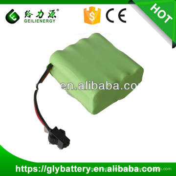ni-mh AA 9.6V 1500mah Paquete de baterías recargables
