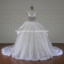 Xf1609 Exquisite Beaded Ball Gown Wedding Dress