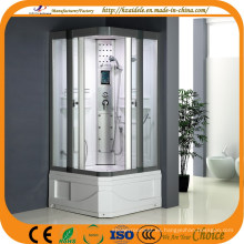 Base cuadrada 2 cabina de ducha lateral de puerta corredera (ADL-8810)