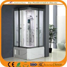 Cabine de duche de porta deslizante de base quadrada de 2 lados (ADL-8810)