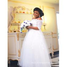 Alibaba Ball Gown Appliqued Vestidos de casamento africano China Designer 2017