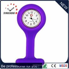 2015 Lila Charm Quarz Krankenschwester Uhr (DC-905)