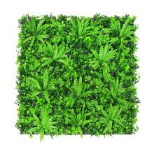 Pared verde sintética que empareda con mejores ventas para la decoración