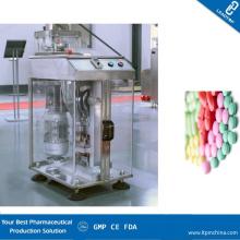 Малая автоматическая одношпиндельная ротационная машина для таблетирования