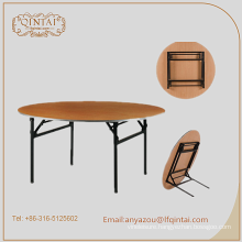 high quality folding dining wooden table banquet table