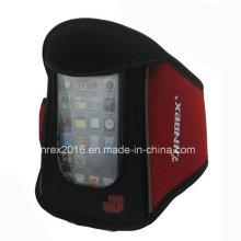 Спортивная беговая дорожка Неопреновая рука с мешком для мобильного телефона-Jb13h024