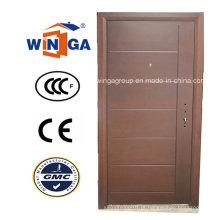 Sérvia Market Popular Exterior MDF Steel Steel Blinded Door (W-A16)