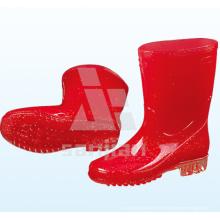 Jy-6239 PVC transparente Männer Regen Stiefel