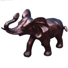 Pequeno elefante fonte estátua de bronze estátua de elefante
