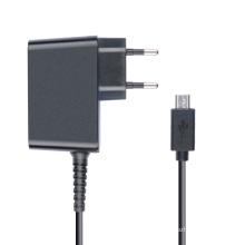 Cargador de viaje adaptador de corriente 5V 2A para Tablet PC con conector micro USB