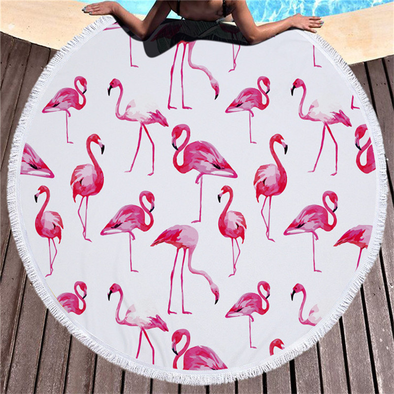 Beach Round Towel