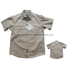 Chemise manuelle tactique à manches courtes pour l'armée