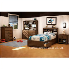 Ensemble de chambre à coucher de 3 pièces à jumelles pour enfants (HF-HH30)