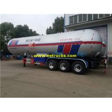 32Ton 62000L Propane Gas Tanker Trailers
