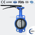 Fábrica precio DN40-1200 PN10/16 la válvula de mariposa, Wafer Lug tipo usted y ensanchó válvula de mariposa
