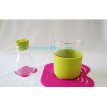 Anti-Skid Silicon Rubber Sleeve for Bottle