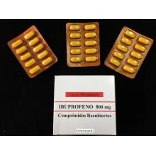 Ibuprofeno tableta BP 800MG