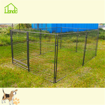 Custom indoor ijzeren hondenkennel hek