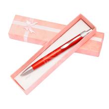 Heiße Verkaufs-romantische Feder mit rosafarbener Farben-Geschenk-Kasten
