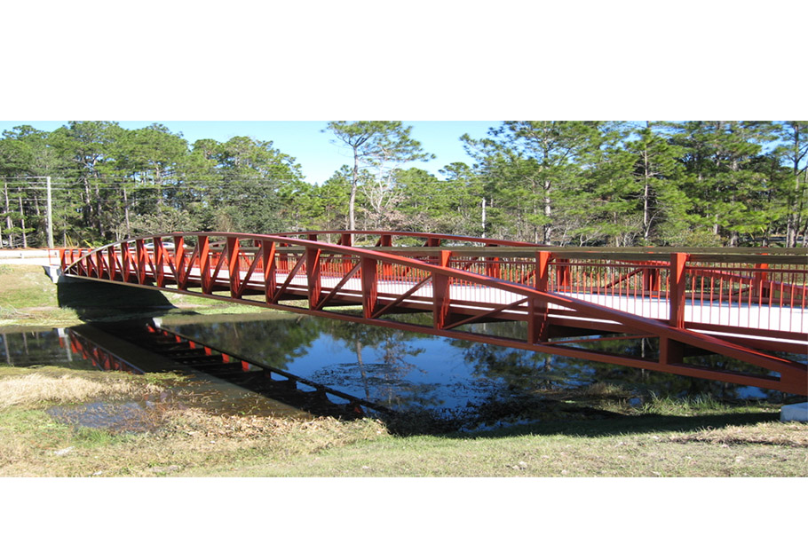 Design Steel Pedestrian Bridge