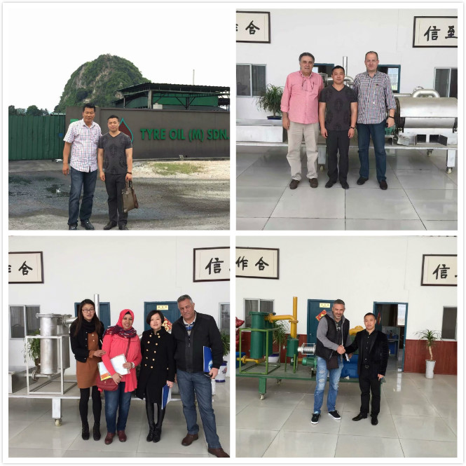 pyrolysis customer visiting 0