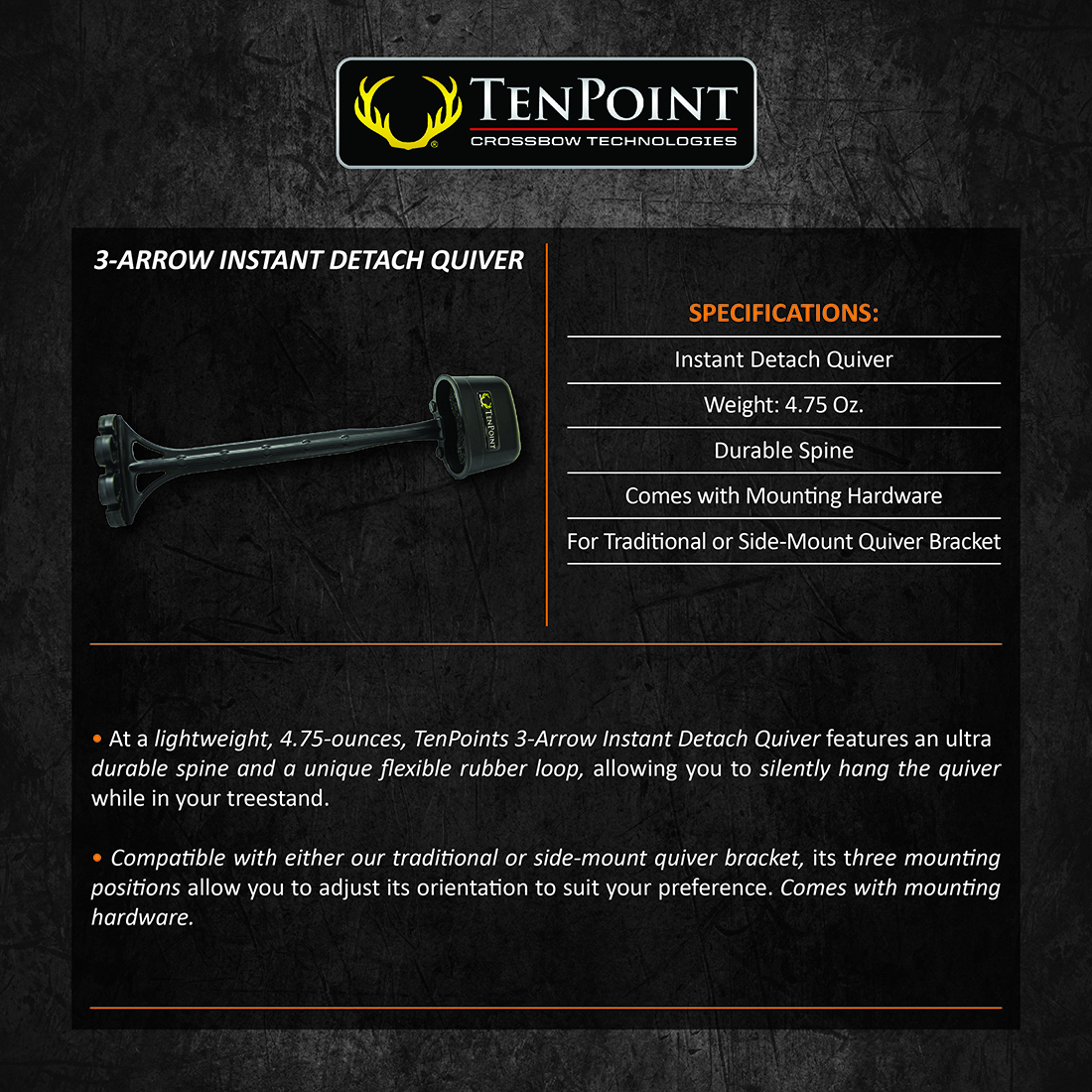 TenPoint_3Arrow_Quiver_Product_Description