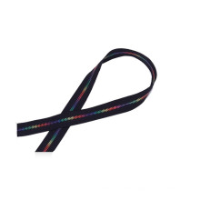 Cheap Custom Premium Size 3 5 8 10 Nylon Rainbow Zipper Tape