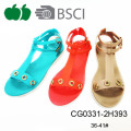 Popular Llatest Flat Summer Lady Sandals