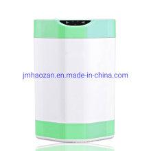 Cubo de basura con sensor automático redondo de 8L con plástico ABS