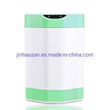 Lixeira com sensor automático redondo 8L com plástico ABS