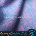 Tissu polyester élastique tricoté double couleur