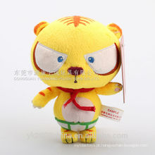 Melhores brinquedos feitos de animais de pelúcia tigre brinquedo & brinquedo de pelúcia recheado de pelúcia em movimento