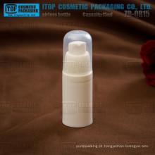 ZB-QR15 15ml por atacado de boa qualidade vazio pp plástico bpa livre pequeno plástico recipiente cosmético