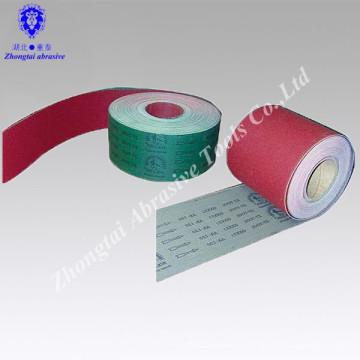 Rouleau de tissu abrasif GXK51 X Tissu de poids