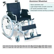 Detachable Foorest Aluminum Wheelchair