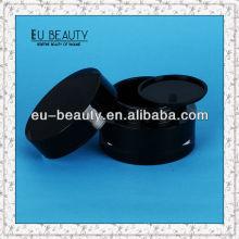 50g Schwarze Zylinder Acryl Creme Jar leeren Kosmetik-Container
