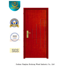 Red Brown Simplestyle Security Steel Door (B-1010)