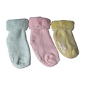 Terry Ankle Baby Socken 3colors