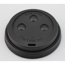 80mm 90mm PS Plastic Disposable Paper Cup Lid for Sale