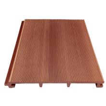Panneau de mur extérieur composé en plastique en bois pour la construction / panneau de mur extérieur / bardage de wpc