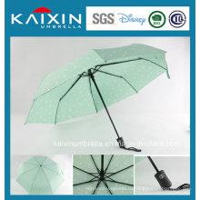 Промоциональный модный узор с открытыми и закрывающимися складными зонтами