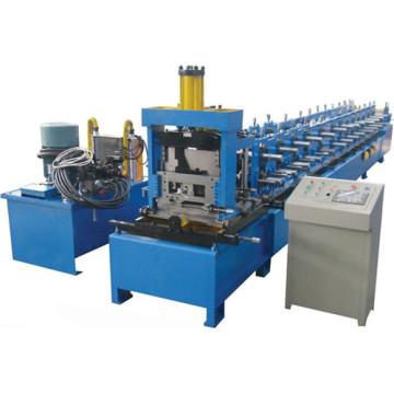Máquina formadora de rolo para perfis C 80-300 Tipo