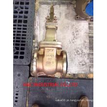 Válvula de Bronze com Válvula de Válvula Não-Crescente com Indicador