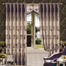 Hot sale royal mais recente hotel de luxo blackout frilled cortinas feitas na china