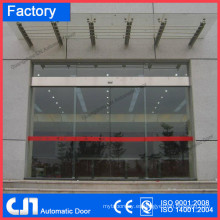 CN 4 alas puerta giratoria automática, puerta automática curvada de cristal, puerta corredera automática fábrica de precio competitivo de calidad superior
