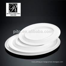 P & T porcelana chaozhou, placas promocionais, cerâmica placas oval